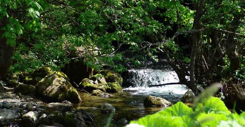 Cascades La Clusaz Massif Des Aravis